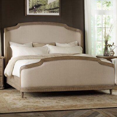 Hermon Upholstered Panel Bed Size: Queen