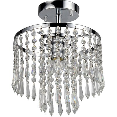 Draper 1-Light Crystal Chandelier