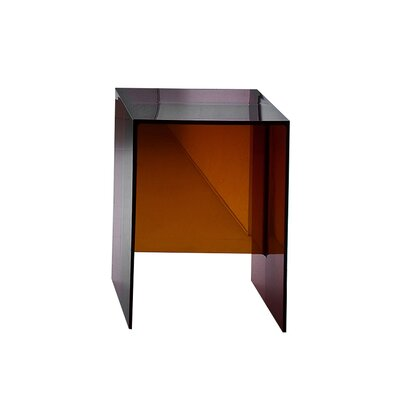 Max Beam Side Table Color: Amber