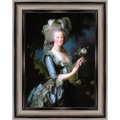 Marie Antoinette Framed Painting Print 6-6223