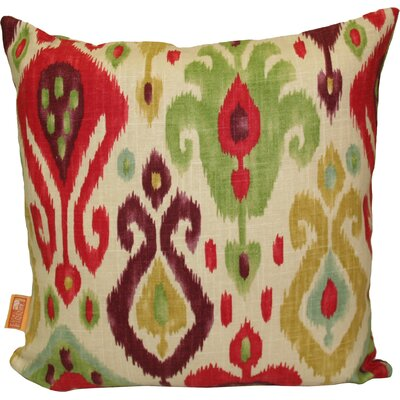 Naomi Pillow in Red Size: 17 x 17