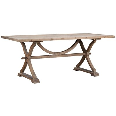 Pomerleau Dining Table Finish: Natural Wax