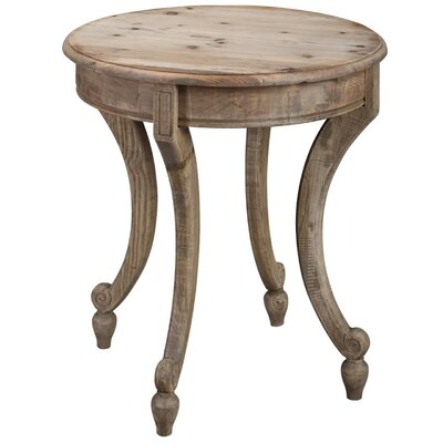 Berniece End Table Finish: Natural Wax