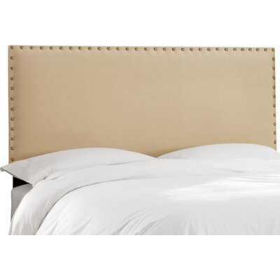 Mellie Upholstered Panel Headboard Size: California King