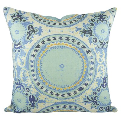 Bohemian 100% Cotton Throw Pillow