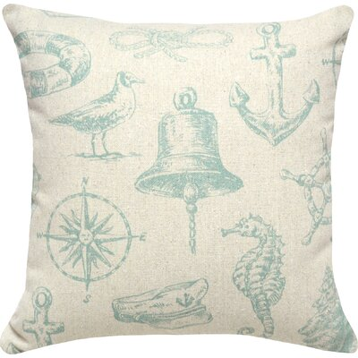 Seaside Linen Throw Pillow (Set of 2)