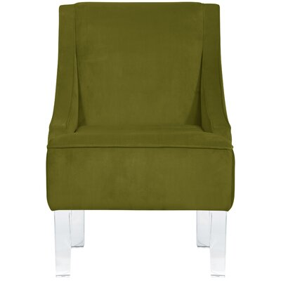 Vale Armchair Upholstery: Apple Green