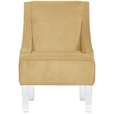 Vale Polyurethane Armchair Upholstery: Buckwheat Cream