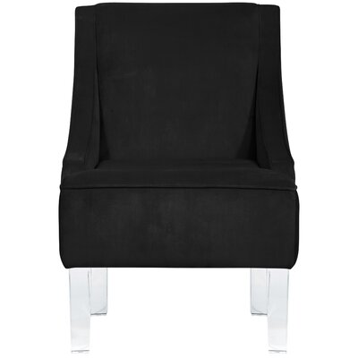 Vale Armchair Upholstery: Black