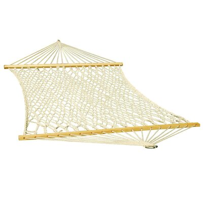 Rope Cotton Tree Hammock Size: Single