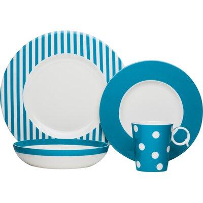 Bessie Porcelain Place Setting Set, Service for 1 FMT40-904