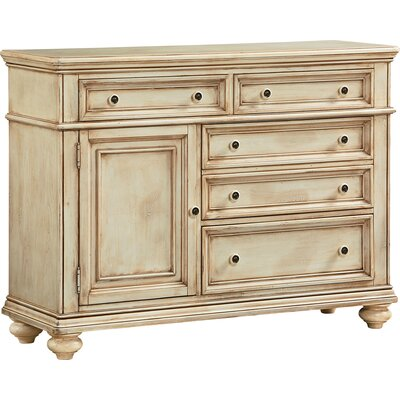 Claudine 5 Drawer Combo Dresser