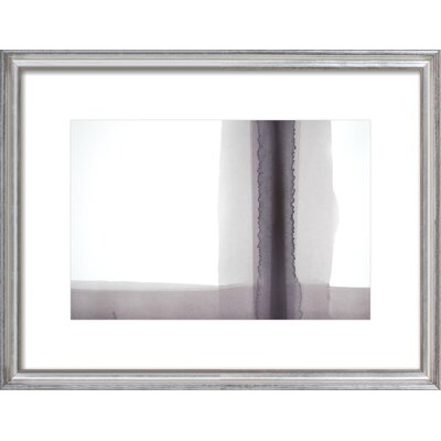 Condense Framed Giclee Print, Artfully Walls Size: 14 H x 18 W
