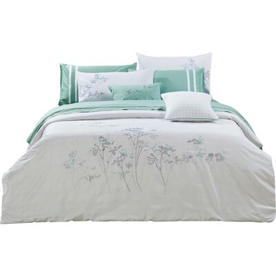 Aspen 3 Piece Duvet Set Size: King