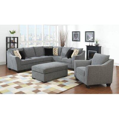 Anselme 2 Piece Living Room Set