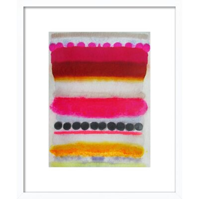 Hot Stuff Framed Print, Artfully Walls Size: 22 H x 18 W