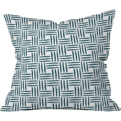 Wasserweave Outdoor Throw Pillow Size: 16 H x 16 W