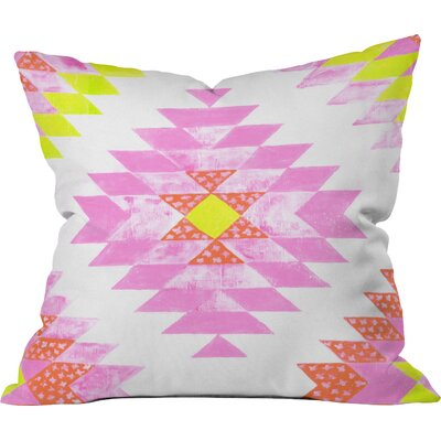 Dash and Ash Outdoor Throw Pillow Size: 16 H x 16 W