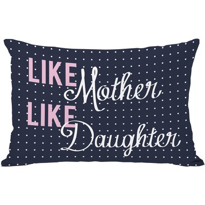 Like Mother, Like Daughter Throw Pillow