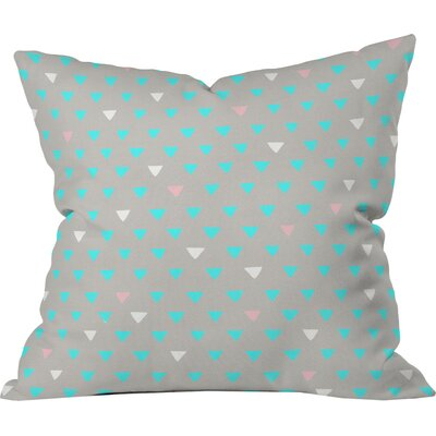 Geometric Confetti Party Outdoor Throw Pillow Size: 18 H x 18 W