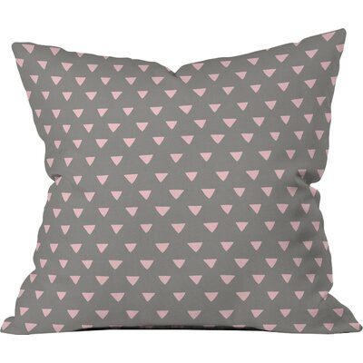 Geometric Confetti Outdoor Throw Pillow Size: 16 H x 16 W