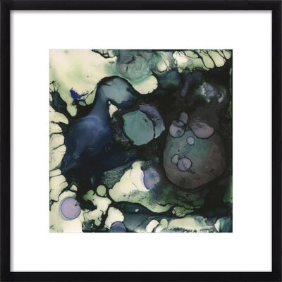 Currents Framed Print, Artfully Walls Size: 26 H x 26 W