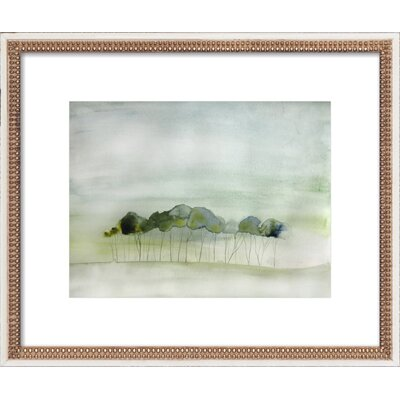 Quiet Framed Print, Artfully Walls Size: 15 H x 18 W