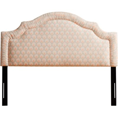 Torrance Cotton/Polyurethane Upholstered Headboard Size: King