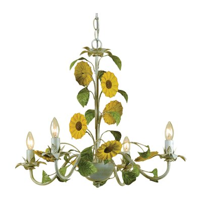 Kansas 4-Light Candle-Style Chandelier