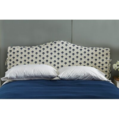 Linen Upholstered Headboard Size: King