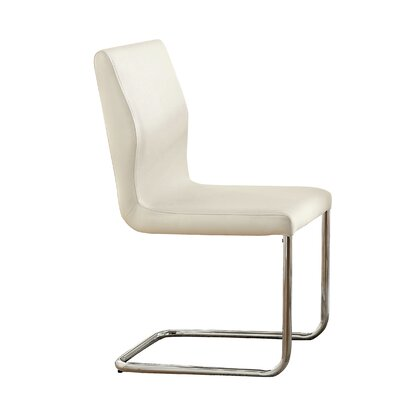 Benedict Side Chair Upholstery: White