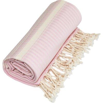 Luxe Herringbone Pestemal in Powder Pink