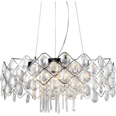 Vale 10-Light Crystal Chandelier