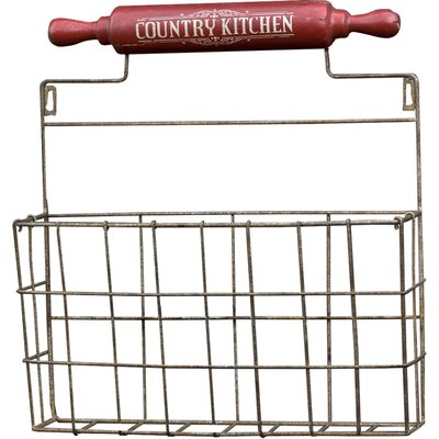 Country Kitchen Wall Basket E13107