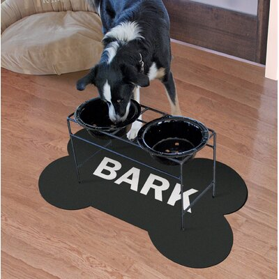 Oakley Bark Dog Bone Mat