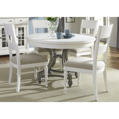 Julia 5 Piece Extendable Dining Set