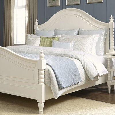 Ancolie Panel Bed Size: King