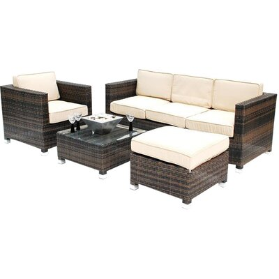4 Piece Hampshire Patio Seating Group