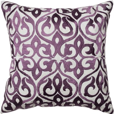 Rochelle Embroidered Silk Pillow Cover