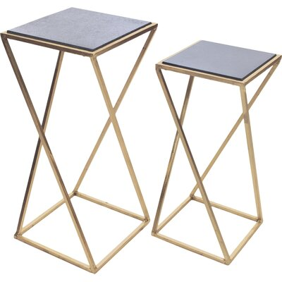 Aubrey 2 Piece Nesting Tables