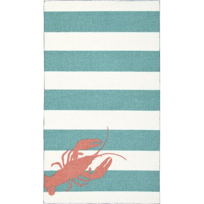 Newburyport Teal Area Rug