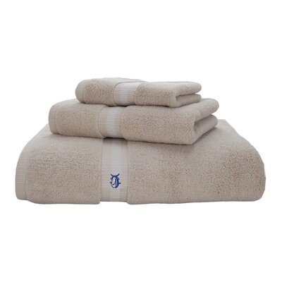 Skipjack Cotton Wash Cloth Color: Sand