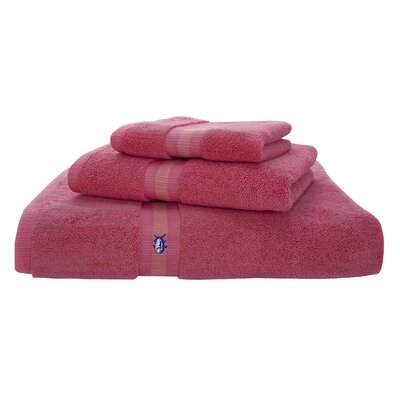 Skipjack Cotton Wash Cloth Color: Sunset Pink