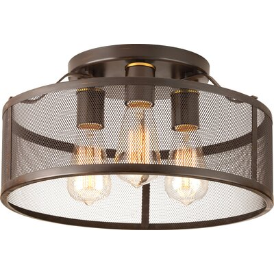 Sondheim 3-Light Flush Mount