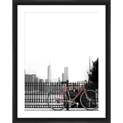 Bike Framed Photographic Print 2-14038B