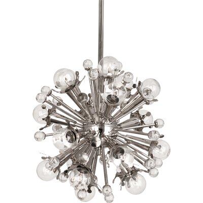 Sputnik 18-Light Globe Pendant Finish: Polished Nickel