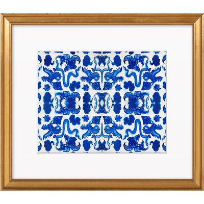Porcelain Art Print, Artfully Walls Size: 26 H x 31 W - Framed