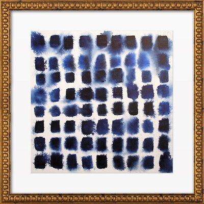 Indigo Blocks Print, Artfully Walls Type: Print Only