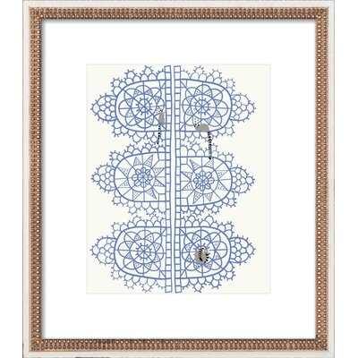 Lace With Lemurs Framed Print, Artfully Walls