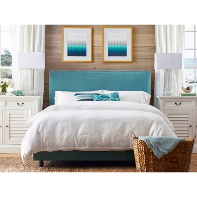 Marlo Upholstered Panel Bed Size: California King